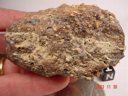 weathered chondrite