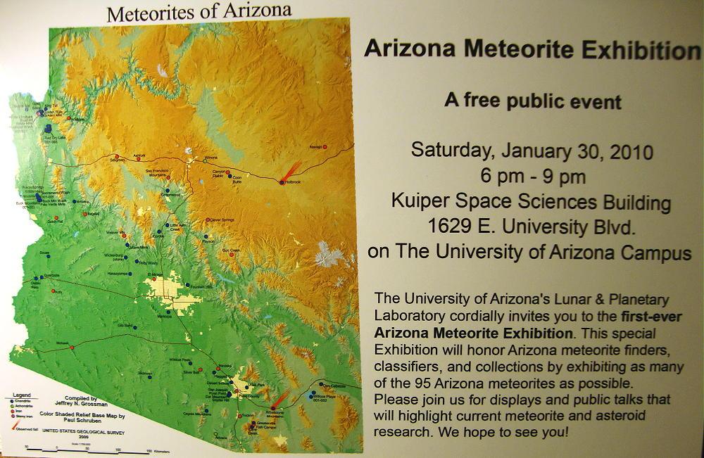 The Arizona Meteorite Exhibition (2010)
