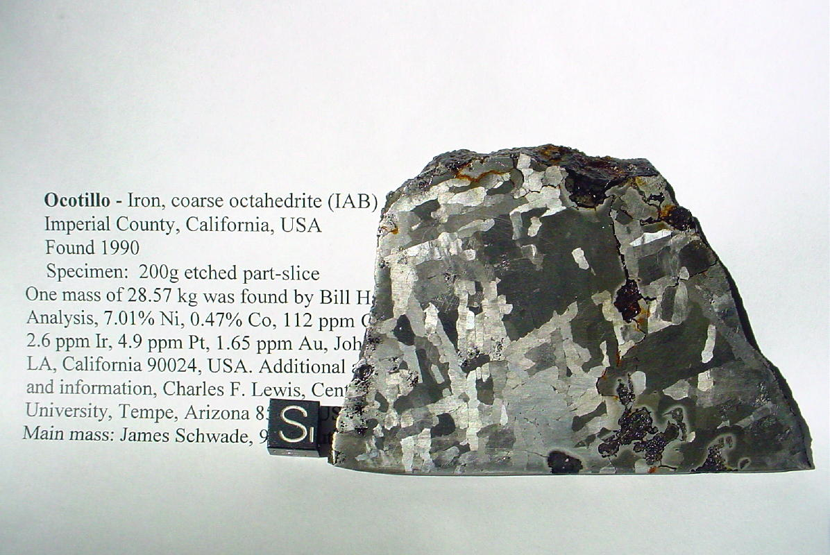 List of California Meteorites