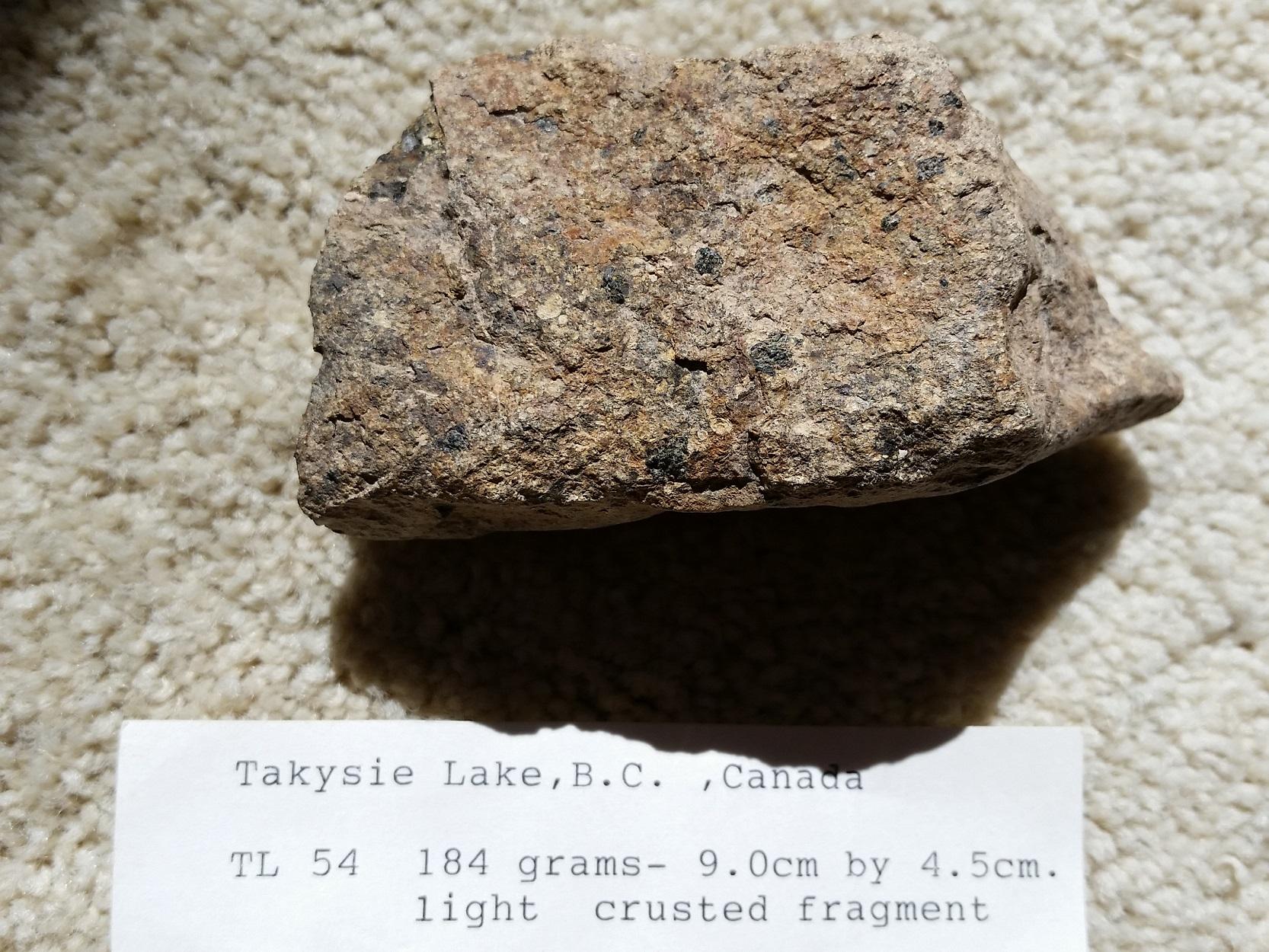 Takysie Lake stone #54